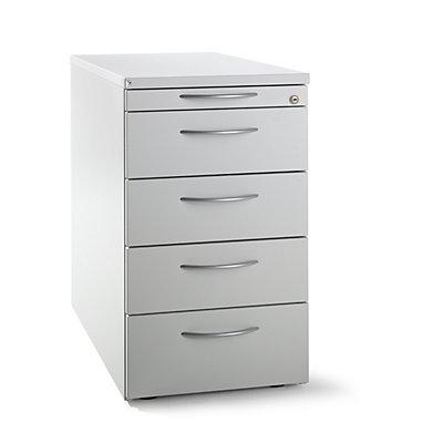 fm büromöbel LENA Bürocontainer - Standcontainer mit 4 Materialschüben