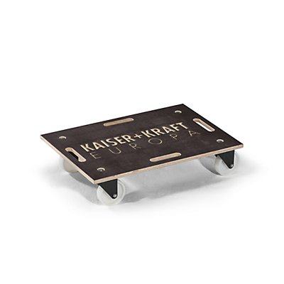 Laflör Transportroller ROLLBOY, Siebdruckplatte, PA-Bereifung, ohne Beschriftung