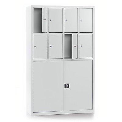 QUIPO Werkstatt-Schließfachschrank - Materialschrank-Kombination