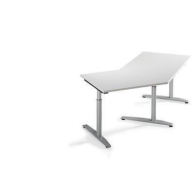 fm büromöbel HANNA Ansatztisch - 45°, für Anbau links