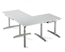 HANNA Verkettung für Schreibtische - höhenverstellbar 680-820 mm