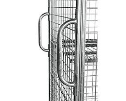 E.S.B. Griffe für Rollbehälter, VE 2 Stk, galvanisch blau verzinkt