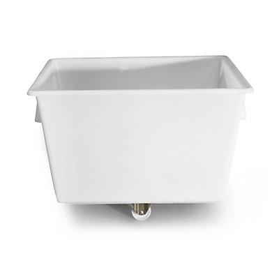 Großbehälter aus Polyethylen, fahrbar - Inhalt 370 l