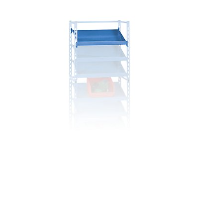 Etagenboden - für Regalwagen, LxB 915 x 705 mm