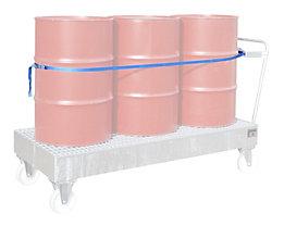 Spanngurtvorrichtung - Fasshaltegurt, für 3 x 200-l-Fässer