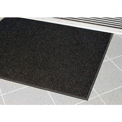 COBA Schmutzfangmatte, gerippt - LxB 1800 x 1200 mm - anthrazit