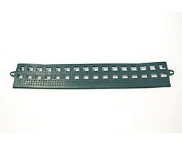 COBA Randleiste für Flexi-Deck - ohne Verbindungsleiste, VE 3 Stk - grün