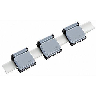 Maul Alu-Schwenkarm für Presenter - mit 3 verschiebbaren Magnetclips
