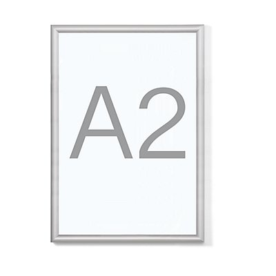 Jansen Display B1-Klapprahmen - Aluminiumprofil, VE 2 Stk