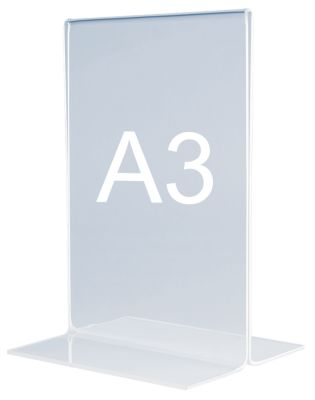 magnetoplan® Tischaufsteller - gerade - Format DIN A3 hoch
