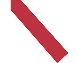 magnetoplan® Einsteckkarten - 60 mm, 7 VE à 90 Stk - rot