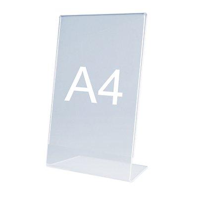 magnetoplan® Présentoir de table - en biais, en acrylique
