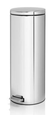 Tret-Abfallsammler, Inhalt 20 l, Höhe 660 mm, Edelstahl