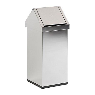 Wertstoffbehälter mit Schwingdeckel - Inhalt 55 l