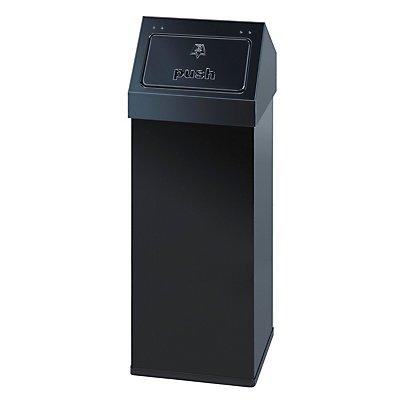 Wertstoffbehälter mit Push-Deckel - Inhalt 110 l