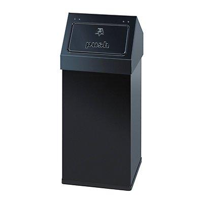 Wertstoffbehälter mit Push-Deckel - Inhalt 55 l