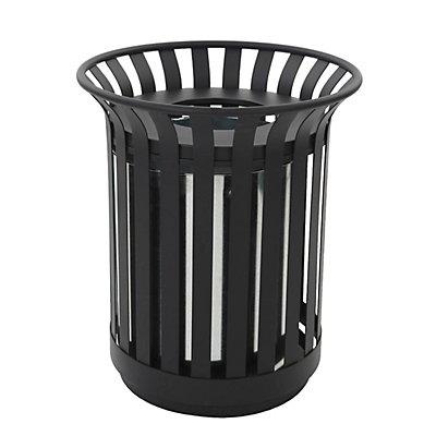 Abfallsammler für außen, Inhalt 69 l, schwarz
