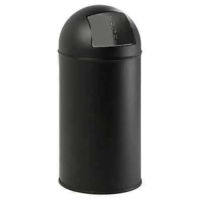Abfallsammler mit Push-Deckel - Inhalt 40 l