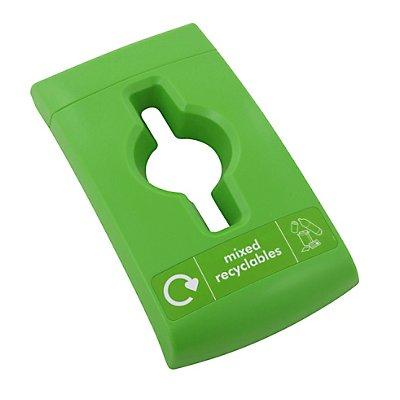 Universal-Deckel, Kunststoff, grün
