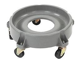 Rollwagen für 90-l-Abfallbehälter, Kunststoff, für Ø 520 mm