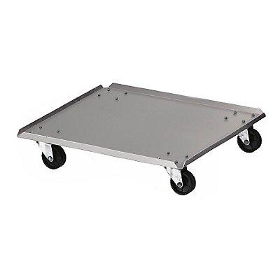 Rollwagen, für Abfallbehälter - Aluminium