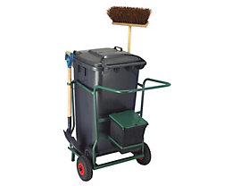 Mülltonne-, Fahrgestell-Set - für 1 Tonne