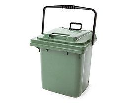 Abfallbehälter aus Kunststoff - mit Ziehstange