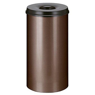 Papierkorb, selbstlöschend - Inhalt 50 l