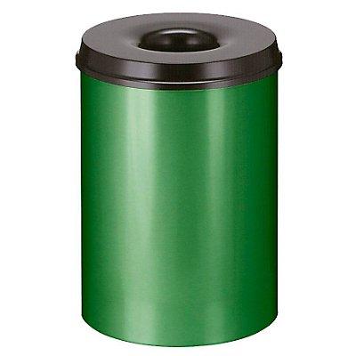 Papierkorb, selbstlöschend - Inhalt 30 l