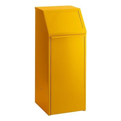Abfallsammler - Stahlblech, Inhalt 70 l