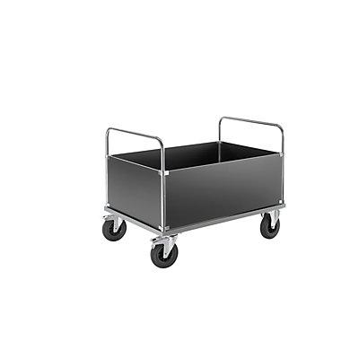 Kongamek Verzinkter Plattformwagen - Kofferaufbau hoch