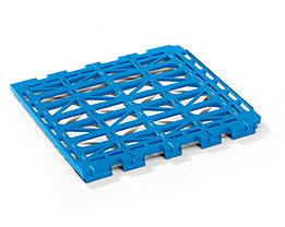 E.S.B. Etagenboden - aus Kunststoff - hellblau