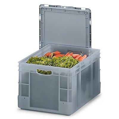 Stapelbehälter aus Polypropylen - Inhalt 60 l, Außenmaße LxBxH 600 x 400 x 320 mm