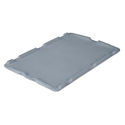VECTURA Deckel aus Polypropylen - LxB 600 x 400 mm, für 40, 60 und 80 l