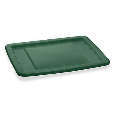Deckel zu Großbehälter - für Behältergröße 400 l - grün