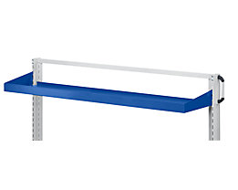 ANKE Wannenboden - Aufkantung 75 mm - BxT 1250 x 250 mm, blau