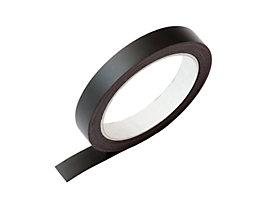 Schaar-Design Magnetband - LxB 5000 x 15 mm, 1 Rolle - schwarz