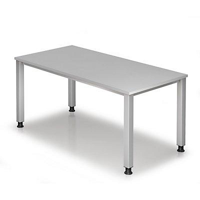 HAMMERBACHER RENATUS Schreibtisch - 4-Fuß-Gestell, Breite 1600 mm