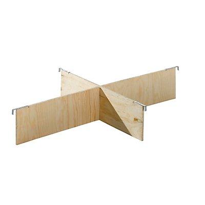 Treyer Aufsatzrahmen-Teiler, Satz - für Palette 1200 x 800 mm