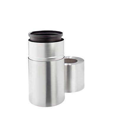 Design-Abfallsammler, 45 l - Aluminium