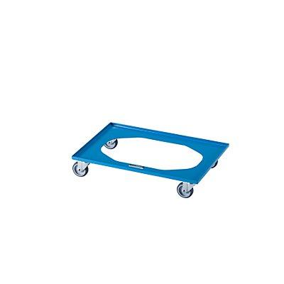 Transportroller NEO, LxBxH 610 x 410 x 118 mm, Tragfähigkeit 250 kg
