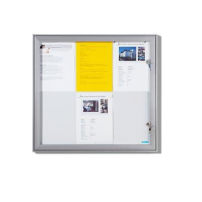 office akktiv Schaukasten mit Flügeltür - Außen-BxHxT 522 x 697 x 33 mm