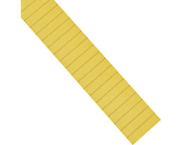 magnetoplan® Markierungsstreifen - 8 mm Strich, 7 VE à 10 Stk - gelb