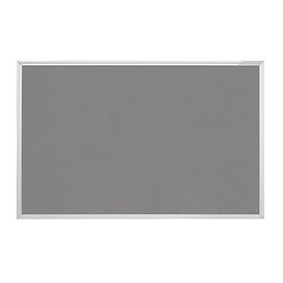 magnetoplan® Pinnwand Typ SP - Textil, grau