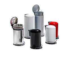 Collecteur de déchets à pédale - capacité 14 l