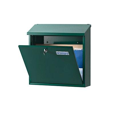 Briefkasten - mit klappbarem Schrägdach, Stahlblech