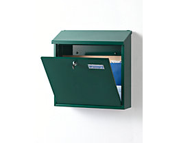 Briefkasten - mit klappbarem Schrägdach, Edelstahl