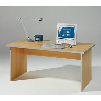 Wellemöbel CLEARLINE Büroschreibtisch mit Wangen - HxBxT 720 x 1200 x 800 mm