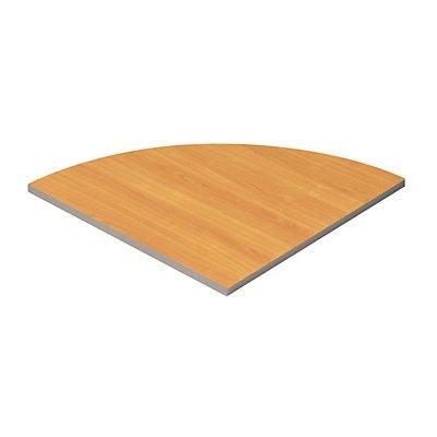 Wellemöbel CLEARLINE 90° Verbindungsplatte für Schreibtische - BxT 800 x 800 mm