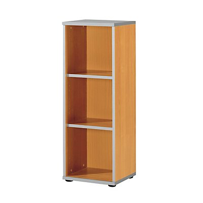 Wellemöbel CLEARLINE Regal - 2 Fachböden, HxBxT 1115 x 400 x 362 mm